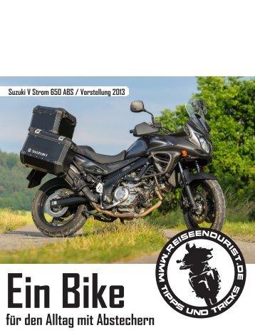 Suzuki V Strom 650 ABS / Vorstellung Modell 2013