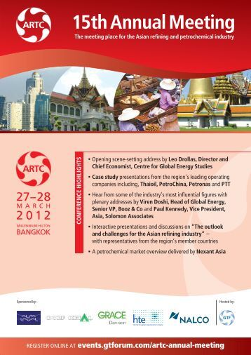 ARTC15th 6pp 2/3:brochure - Global Technology Forum