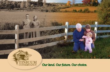 Stories From Tinicum: New Conservancy Brochure tells the inspiring ...