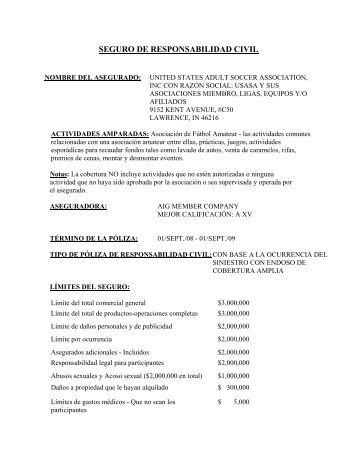 Magazines for Seguro responsabilidad civil autonomos obligatorio