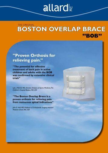 The Original BOSTON OVERLAP BRACE - Allard International