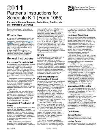 Nj 1065 schedule a instructions 2012   Fresh Pdf Download