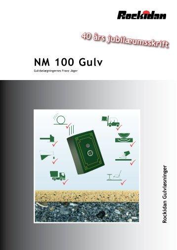 NM 100 Gulv - sort på gråt - Rockidan