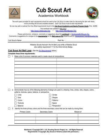 scout merit badge program schedule sign-up sheet - AzScout.Org