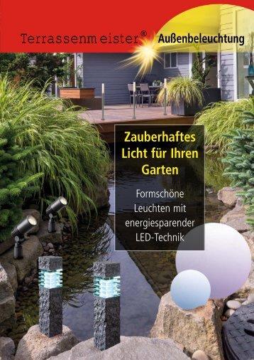 Licht für Ihren Garten - Terrassenmeister
