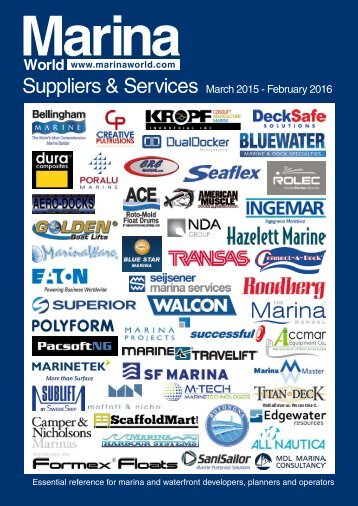 Suppliers & Services 2015 - Marina World