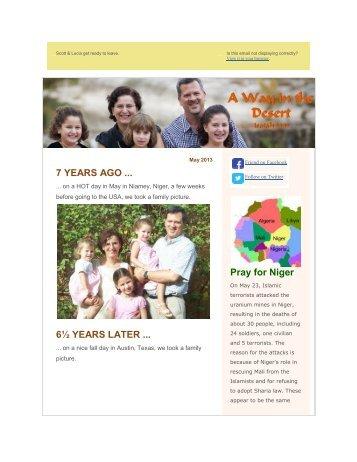 May 2013 - The Metropolitan Bible Church