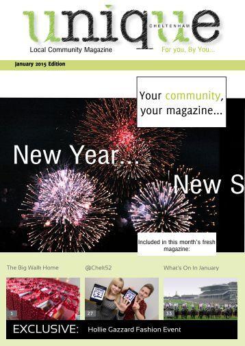 Unique Magazine January 2015