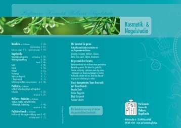 Parfümerie Kosmetik Wellness Nagelstudio - beauty locator