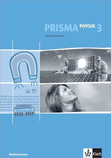Lehrerhinweise zu PRISMA Physik 3 ... - Ernst Klett Verlag