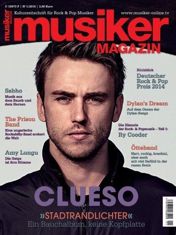 Musiker Magazin 01/2015