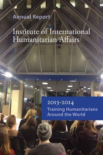 IIHAAnnualReport2013-2014