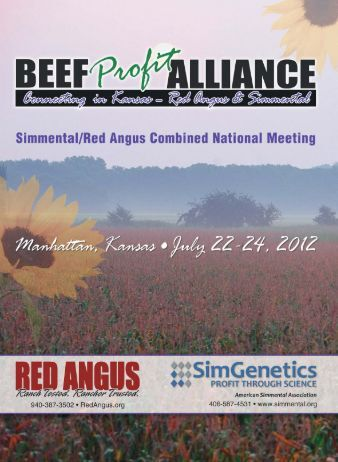 Beef Profit Alliance - Red Angus Association of America