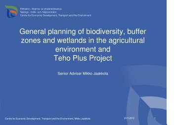 Nepal biodiversity strategy and action plan
