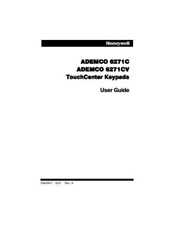 Ademco: Lynx Ademco User Manual