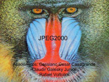 Padrao JPEG2000.pdf - INF-Unioeste