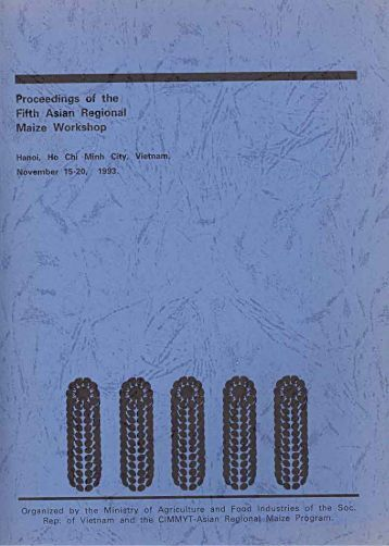 Proceedings of the Fifth Asian Regional Maize Workshop - Search ...
