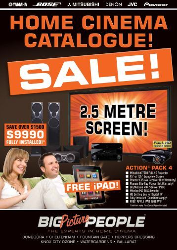home cinema catalogue! - Westfield