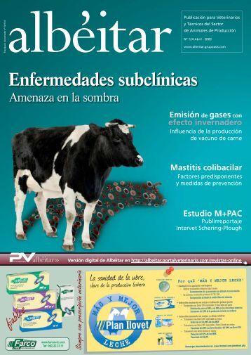 Enfermedades subclínicas - Albeitar - Grupo Asís