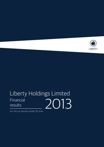 Liberty Holdings Limited - Sharenet