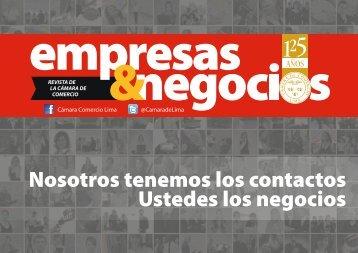 Presentacion Empresas & Negocios - Cámara de Comercio de Lima