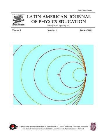 PDF - Latin-American Journal of Physics Education