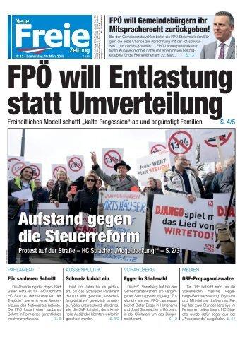 FPÖ will Entlastung statt Umverteilung