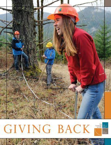 giving back - OSU Alumni Association