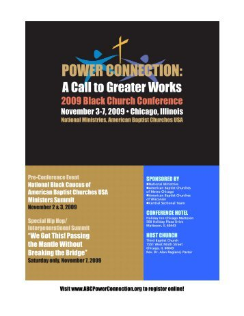 POWER CONNECTION: - American Baptist Home Mission Societies