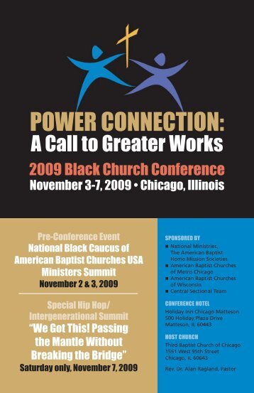 POWER CONNECTION - American Baptist Home Mission Societies