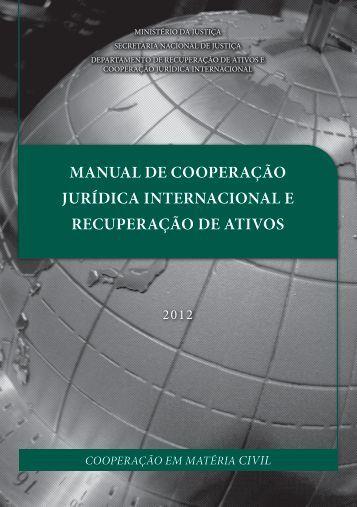 Manual Cooperação Jurídica Internacional Civil - Tribunal Regional ...