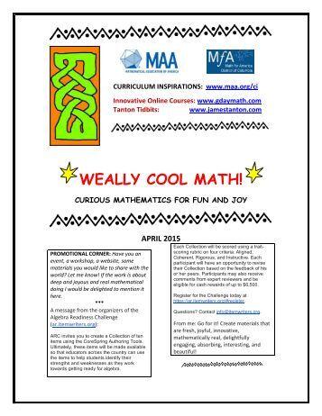 Essays on math