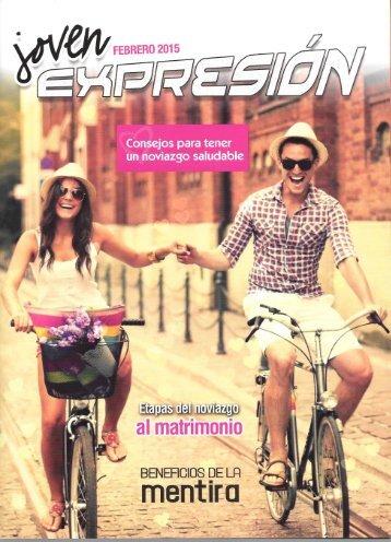 Expresión Joven Febrero 2015 - Consejos para tener un noviazgo saludable