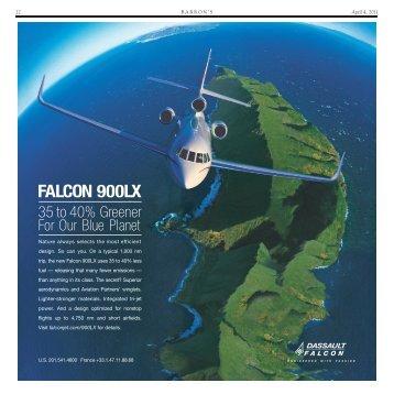 FALCON 900LX - Business Jet Traveler