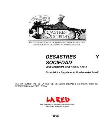 Desastres y Sociedad 2 - La RED