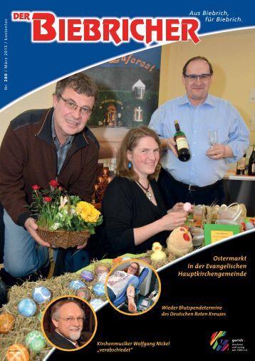 DER BIEBRICHER, Ausgabe 280, März 2015