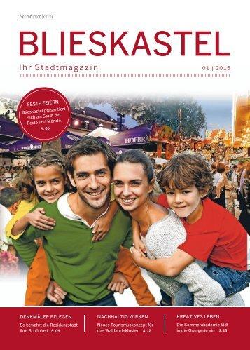 Stadtmagazin Blieskastel 01|2015