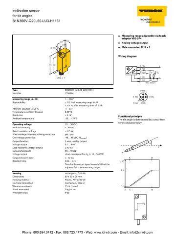 3 Axis Accelerometer Sensor Impact Sensor Wiring Diagram
