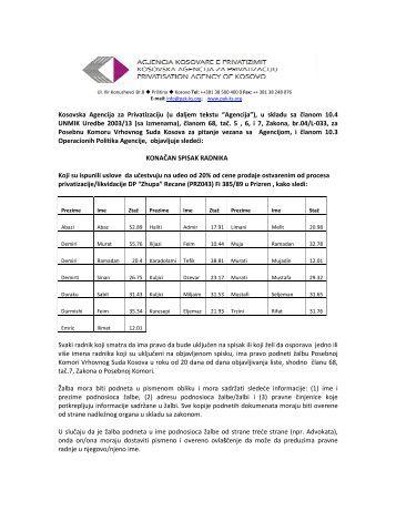 18.07.2013 20.07.2013DP Zupa, Recane - PrizrenOtvori PDF