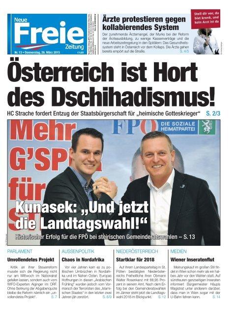 Österreich ist Hort des Dschihadismus!