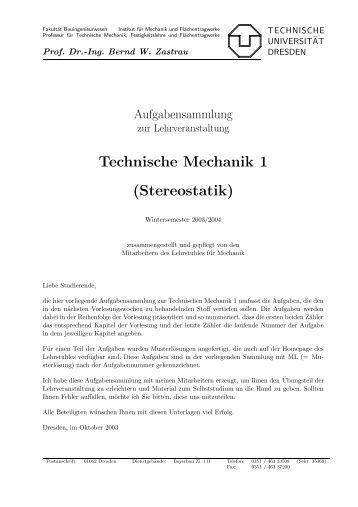 41 aufgabe 2 2 10 zeichnen sie zu dem dargestellten for Technische mechanik grundlagen pdf