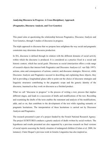 semantics and pragmatics thesis