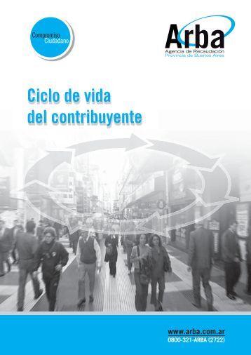 Ciclo de vida del Contribuyente - Arba