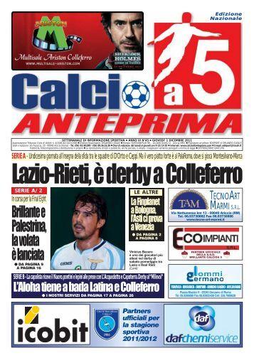 2 - Calcio a 5 Anteprima
