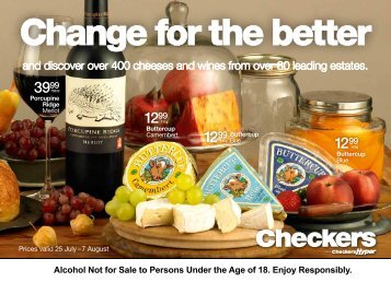Alcohol Not for Sale to Persons Under the Age of 18 ... - Find Specials