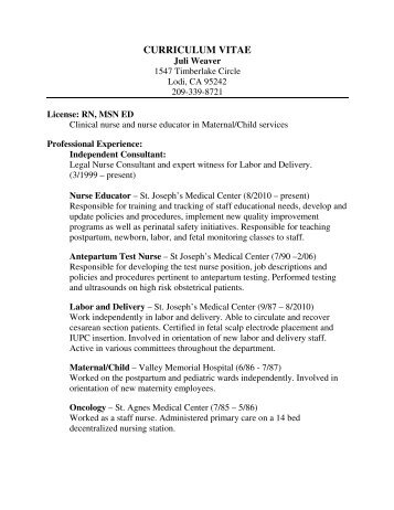 Charming Labor And Delivery Nurse Cover Letter. Labor And Delivery Nurse Cover Letter  .