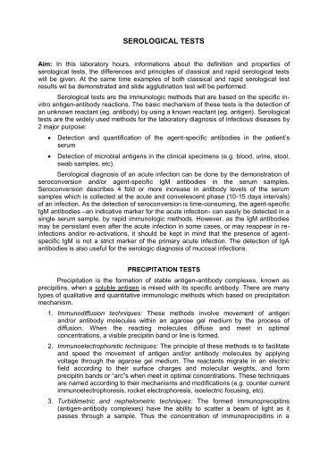 immunology and serology stevens pdf