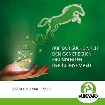Zusammensetzung der Produkte - Audevard