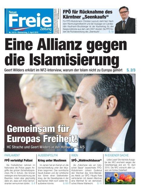 Eine Allianz gegen die Islamisierung