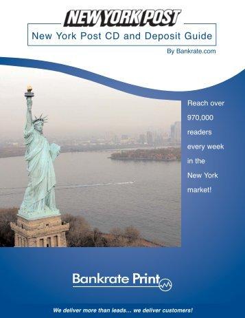 New York Post CD and Deposit Guide